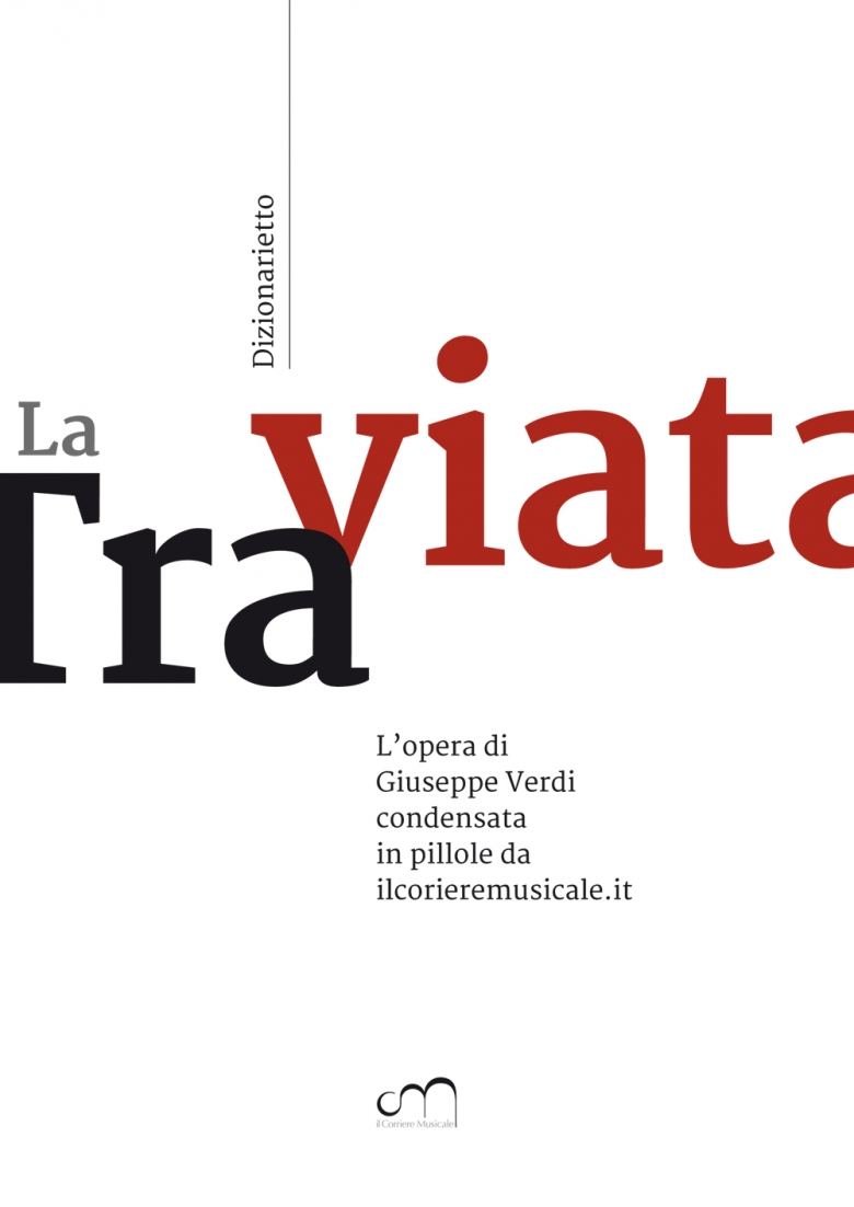 """Dizionarietto"", online dictionary of Traviata, cover"