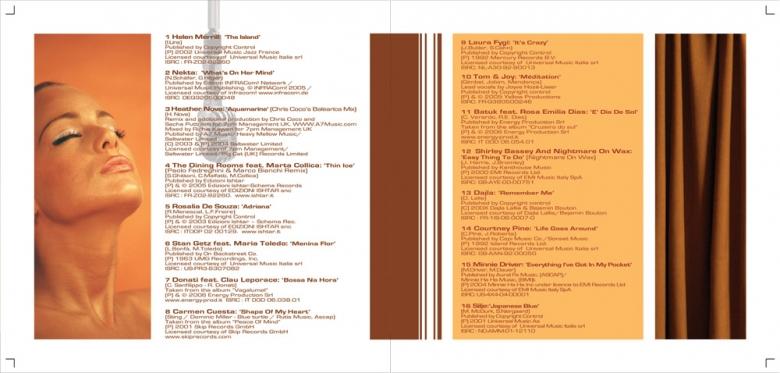 inside of booklet